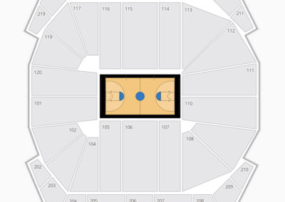 Mizzou Arena Seating Chart Basketball