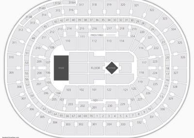 Moda Center Concert Seating Chart
