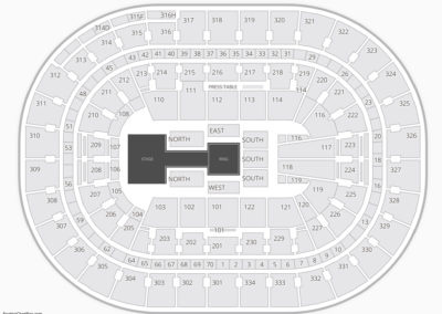 Moda Center Wwe Seating Chart