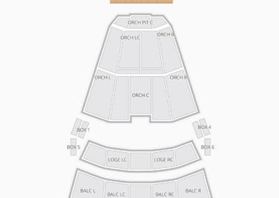 Moran Theater Seating Chart