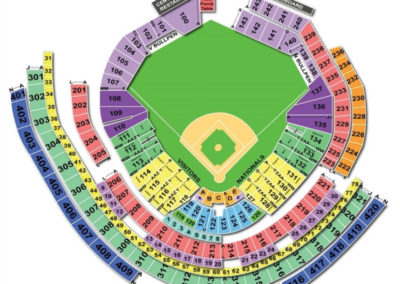 Nationals Park Baseball Seating Chart
