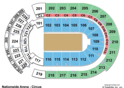 Nationwide Arena Circus Seating Chart