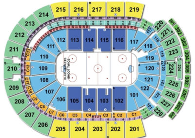 Nationwide Arena Hockey Seating Chart
