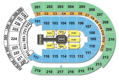 Nationwide Arena Wrestling Seating Chart