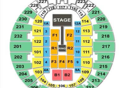 Norfolk Scope Arena Seating Chart WWE