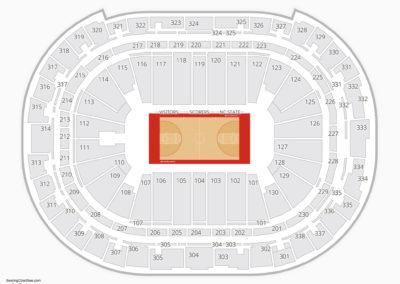 North Carolina State Wolfpack Basketball Seating Chart