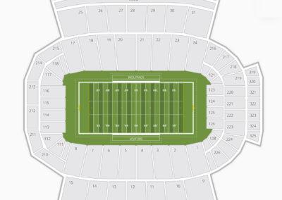 North Carolina State Wolfpack Football Seating Chart