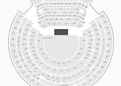 Oakland-Alameda County Coliseum Concert Seating Chart