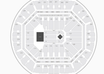 Oracle Arena Concert Seating Chart