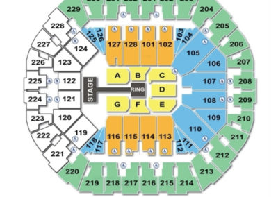 Oracle Arena wwe Seating Chart