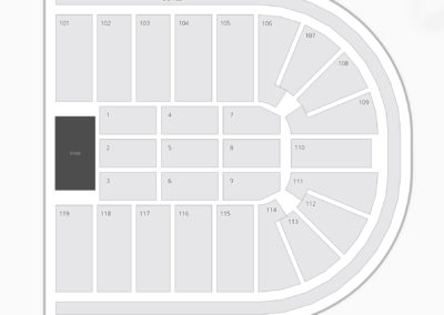 Orleans Arena Seating Chart Concert