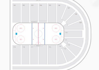 Orleans Arena Seating Chart Hockey