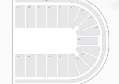 Orleans Arena Seating Chart Wrestling