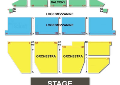 Orpheum Theater San Francisco Seating Chart