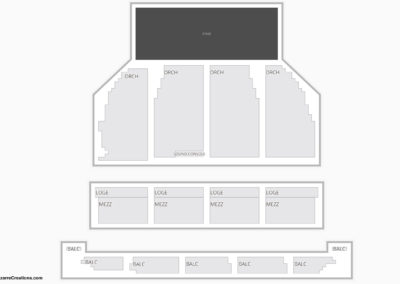 Orpheum Theater San Francisco Seating Chart Broadway Tickets National