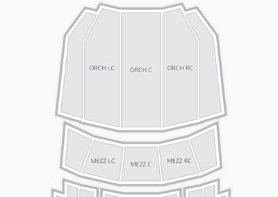 Ovens Auditorium Seating Chart