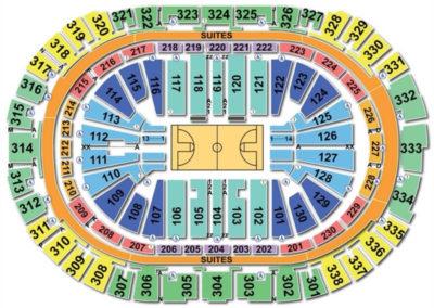 PNC Arena Basketball Seating Chart