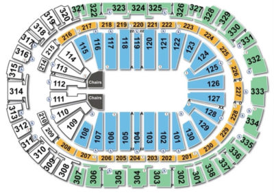 PNC Arena Rodeo Seating Chart