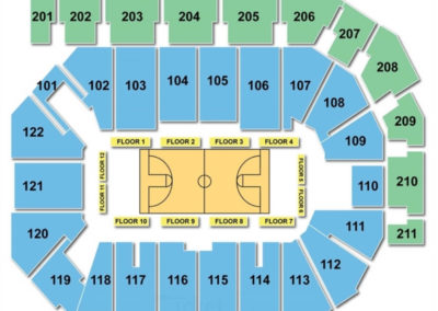 PPL Center Basketball Seating Chart