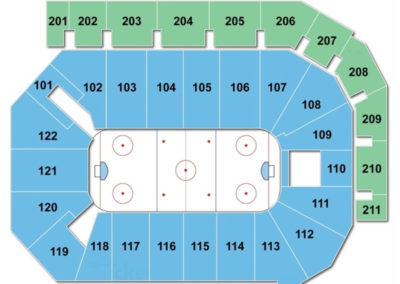 PPL Center Hockey Seating Chart