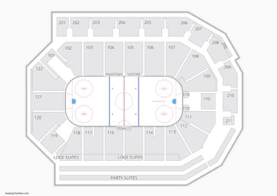 PPL Center Seating Chart Hockey