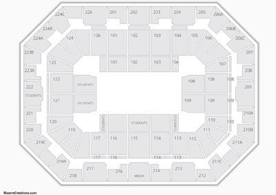 Pauley Pavilion Seating Chart