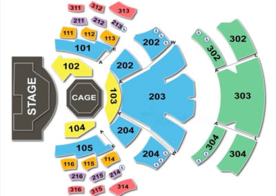 Pearl Concert Theater Seating Chart Palms Casino Resort - Las Vegas