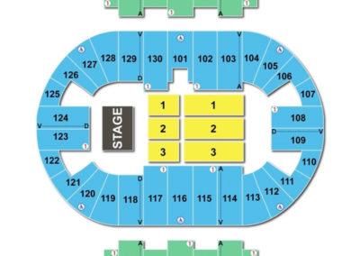 Pensacola Bay Center Concert Seating Chart