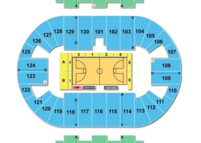 Pensacola Bay Center Seating Chart Basketball
