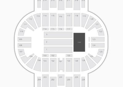 Pensacola Bay Center Seating Chart Concert