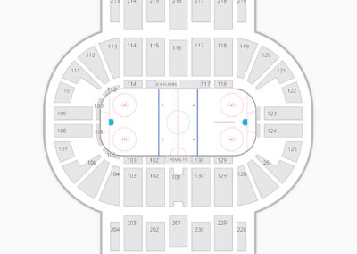 Pensacola Bay Center Seating Chart Hockey