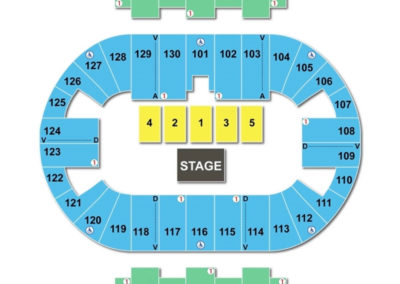Pensacola Bay Center Seating Chart Theater
