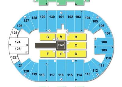 Pensacola Bay Center Seating Chart WWE