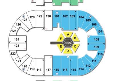 Pensacola Bay Center Seating Chart Wrestling