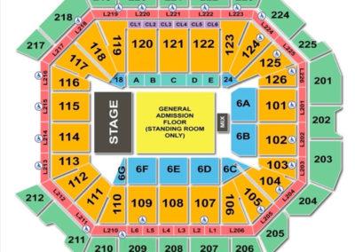 Petersen Events Center Concert Seating Chart