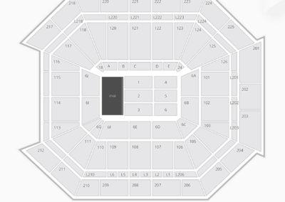 Petersen Events Center Seating Chart Concert