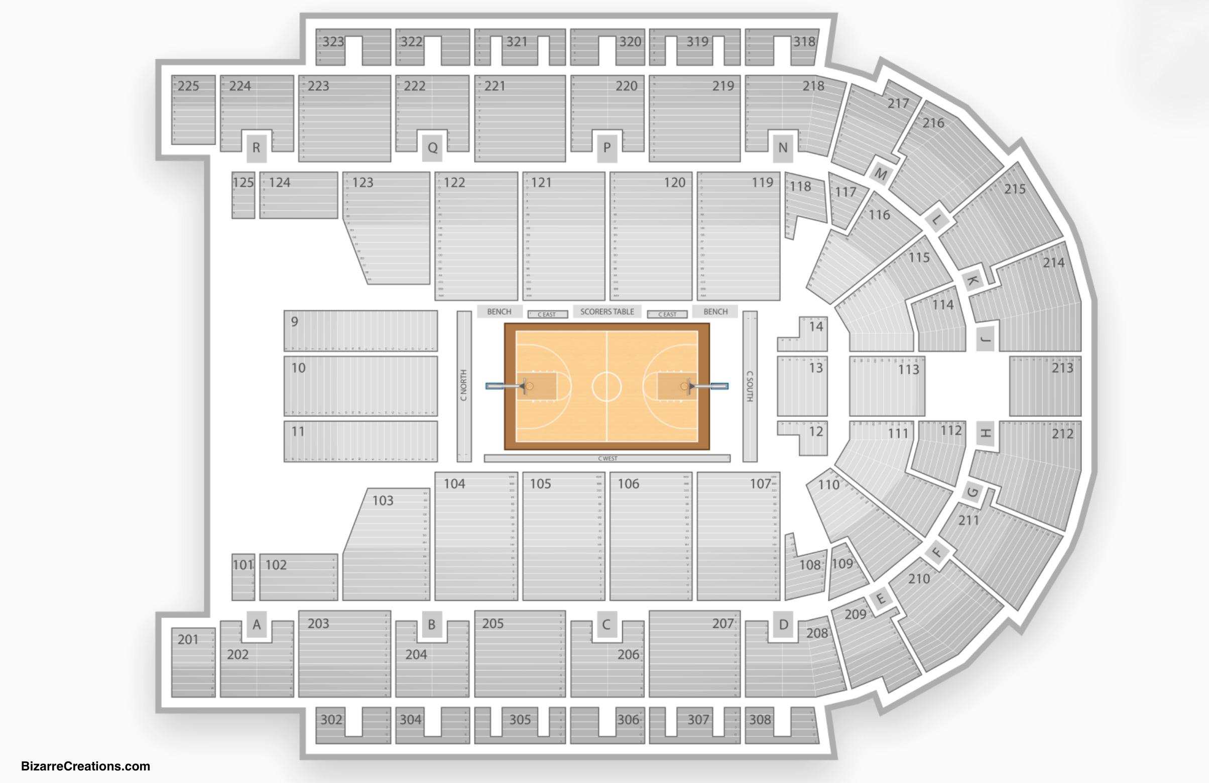Philadelphia 76ers Seating Chart