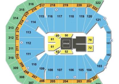 Pinnacle Bank Arena Boxing Seating Chart