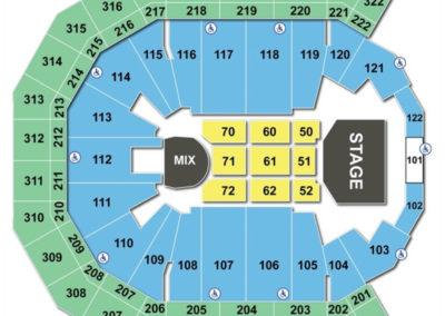 Pinnacle Bank Arena Seating Chart Concert