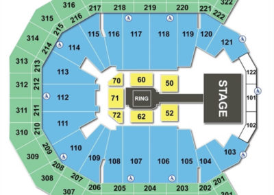Pinnacle Bank Arena Seating Chart WWE
