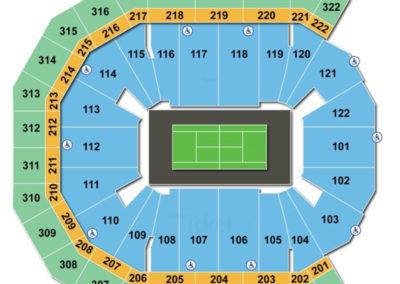 Pinnacle Bank Arena Tennis Seating Chart