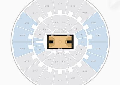 Purdue Boilermakers Basketball Seating Chart