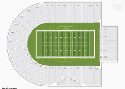 Purdue Boilermakers Football Seating Chart