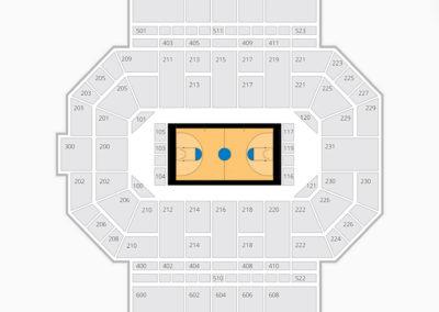 Purdue Fort Wayne Mastodons Seating Chart Basketball