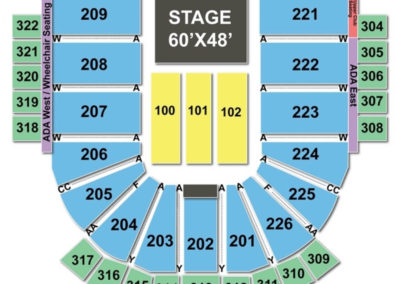 Resch Center Theater Seating Chart