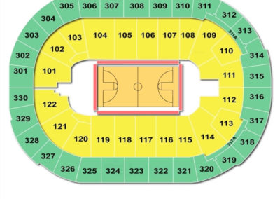 Rogers Arena Seating Chart Basketball