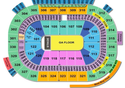 Rogers Arena Seating Chart Concert Vancouver