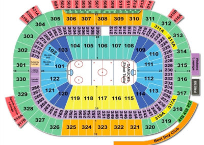 Rogers Arena Seating Chart Hockey