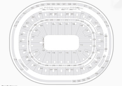 Rogers Arena Seating Chart Theater