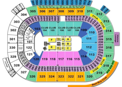 Rogers Arena Seating Chart WWE